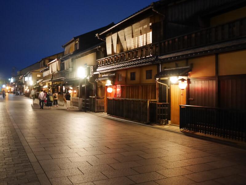 京都、花見小路