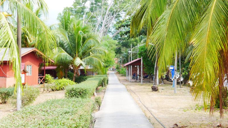 ティオマン島 ABC村